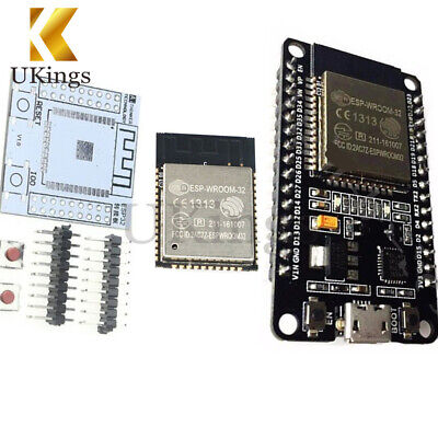 ESP8266 ESP32S ESP32 ESP-WROOM-32 To Wifi Wlan BLE WiFi Module+Adapter Board