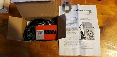 Digital Lathe Spindle Speed Tachometer Readout kit New