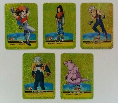 Lamincards Dragon Ball Gt Carte Cards Edibas  2007 - A Scelta - (L5)