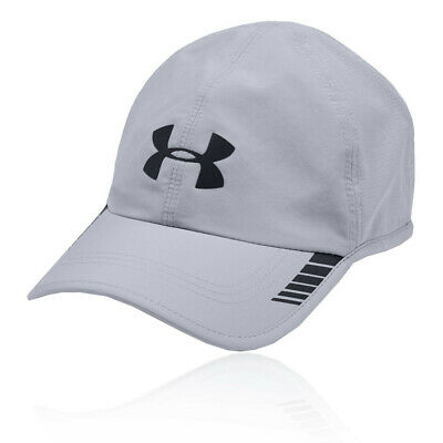 release date: 8cf9f c6e9f Under Armour Mens Launch ArmourVent Running Cap Grey Sports Breathable