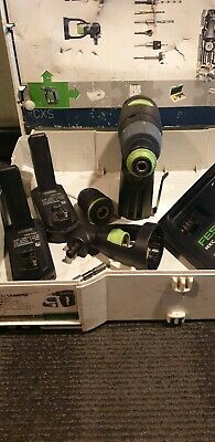 Festool CXS 10.8v Cordless Drill Driver 2 x 1.5Ah in Systainer Box