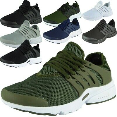 469dc38c2802 Mens Running Trainers Lace Up Flat Comfy Fitness Gym Sports Shoes Size