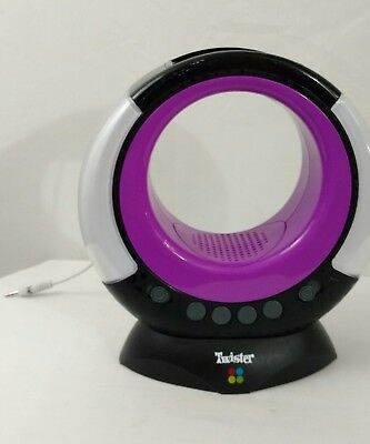 TWISTER DANCE RAVE Music Electronic Game Black Purple MP3 Speaker only