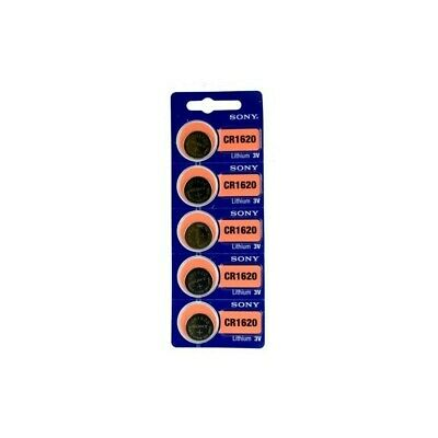 US BL200-2x Sony CR1620 / DL1620 3V Lithium button cell battery 2x Blisters