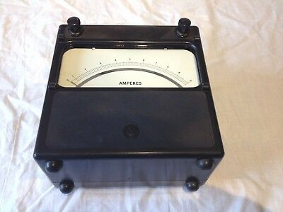 AVO Ammeter 0-10 Amps range AC & DC, analouge meter fully tested as per pics
