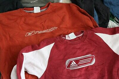 Wholesale Joblot Of 20 Vintage Branded Sweatshirts Jumpers Tops