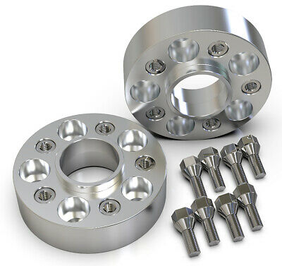 40Mm 5X110 65.1Mm Hubcentric Wheel Spacer Kit Uk Made Saab 9-3 9-5 900