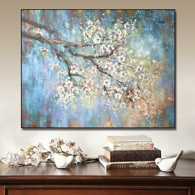 HH208 100% Hand-painted Scenery oil painting on canvas TREE No Frame 60x80cm