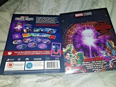 Marvel Studios Edition Collectionneur Blu-Ray Coffret -phase Deux 6-film Neuf &