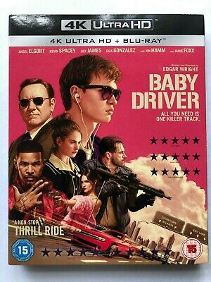 Baby Driver 4K UHD Blu ray Watched Once Code Included