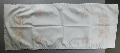 Easy Colorex Color-Stamped to Embroider Crochet Roses Flowers Scarf