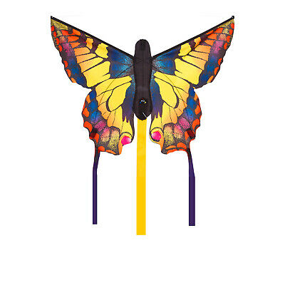 HQ Butterfly Swallowtail R Single Line Kite 52 x 34cm & 3mtr Tails Ready 2 Fly