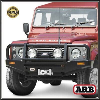 ARB Bull Bar for Land Rover Defender & County 1985-on Deluxe Winch Bumper