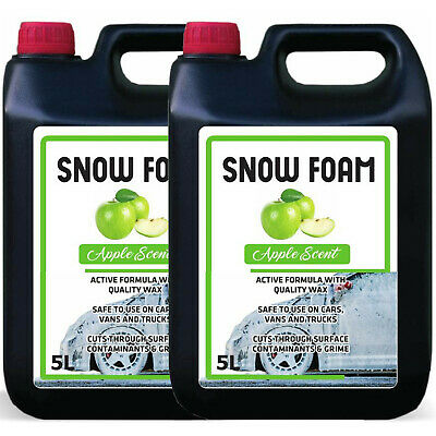 Snow Foam Apple Fragrance Car Candy Shampoo High Gloss Ph Neutral Clean 10L