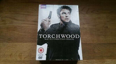 Torchwood DVD Box Set Series 1-2 plus Children of the earth and Miracle Day