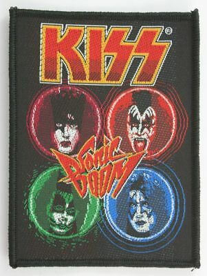 KISS Patch Toppa Sonic Boom OFFICIAL MERCHANDISE