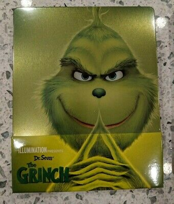 The Grinch - Limited Edition Steelbook (Blu-ray 2D/3D) BRAND NEW!!