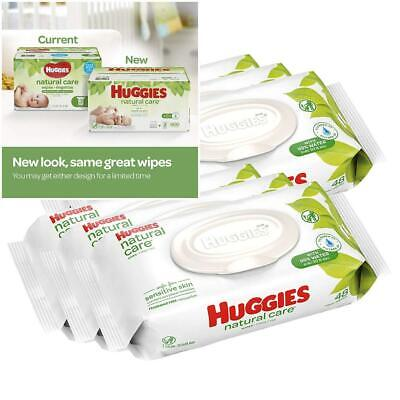HUGGIES Natural Care Baby Wipes: [Choose Count]