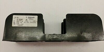 NEW Gould Shawmut 21037 2 Pole Fuse Holder 250V 100 A Class H & K Fuse Block