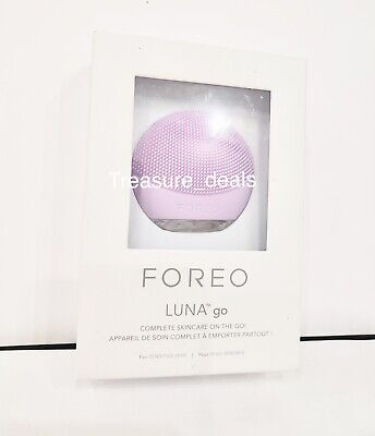 Foreo Luna Go for Sensitive Skin Silicone Facial Cleansing Brush NEW