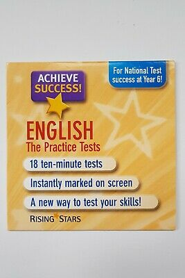 Rising Stars - English The Practice Tests Cd – 18 Ten Min Tests - Yr 6 Nat Tests