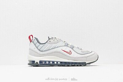 più amato b6711 212d8 NIKE AIR MAX 98 EU42 summit white metallic silver bianche limited edition
