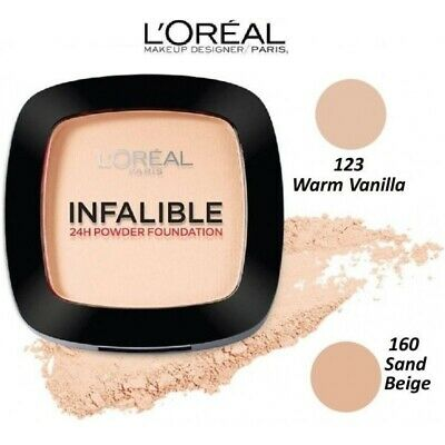 LOREAL Infallible 24H Polvo Compacto Powder Maquillaje L'Oréal Indefectible
