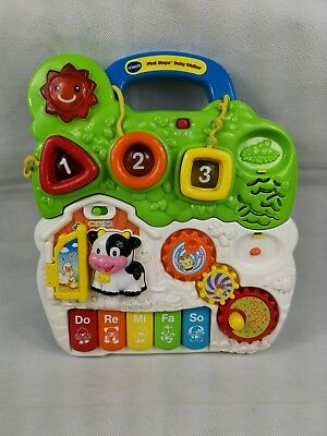 Vtech First Steps Baby Walker Interactive Toy with Sounds and Lights  80-61763