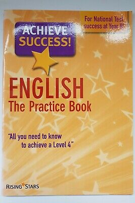 Rising Stars-English The Practice Book - For National Test Success At Yr 6 - New