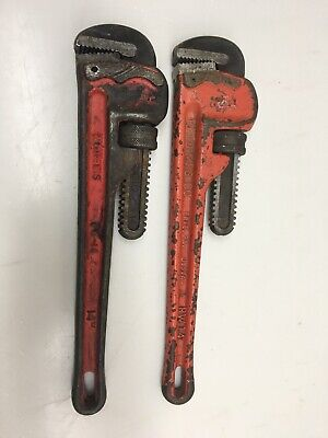 "Reed MFG. Co.  Adjustable Pipe Wrench 14"", And Williams 14 "" Lot"