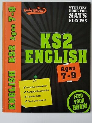 English Ks2 – Ages 7-9 – Gold Stars – With Test Book For Sats - Unused