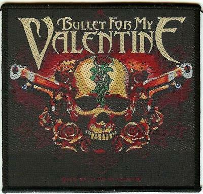 BULLET FOR MY VALENTINE Patch Toppa Two Pistols OFFICIAL MERCHANDISE
