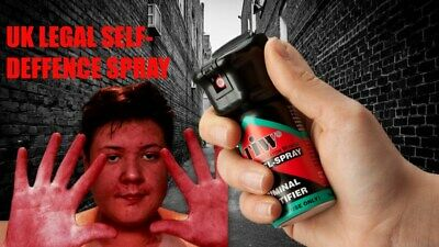Farb Gel Defense Red Dye Self Defence Security Protection Spray Legal Pepper UK