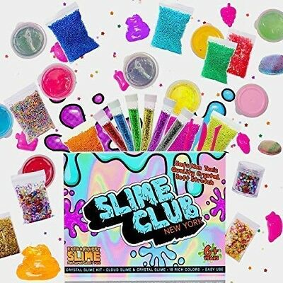 Slime Kit Supplies – Slime Kit, includes 18 different colors