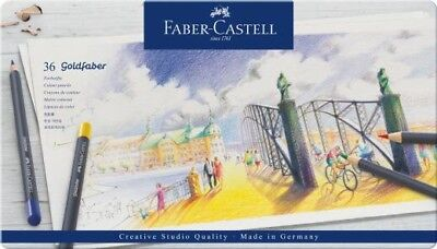 Faber Castell 36 Goldfaber Colour Pencil Tin FC114736