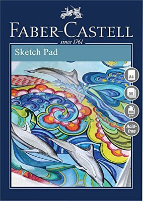 Faber Castell Creative Studio A4 Sketch Pad 50 Sheets 100GSM WD791310