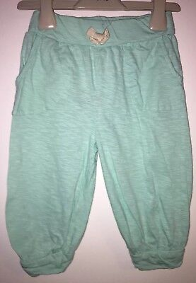 Girls Age 5-6 Years - Cropped Loose Fit Trousers- Excellent Condition