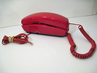 FIRE ENGINE RED Cobra BOSS Land Line WALL Phone EMERGENCY no Electricity Needed