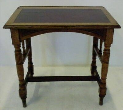 Antique Slope Reading Writing Library Desk Lectern Gothic Revival  Arts Crafts