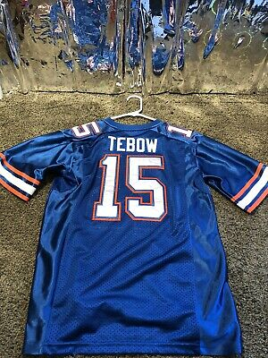 sports shoes 4d043 72a61 FLORIDA GATORS TIM Tebow Sewn NCAA Nike Team Jersey Mens Sz ...