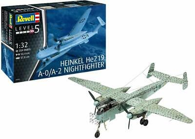Revell 03928 Heinkel He219 A-0/A-2 Nightfighter Model Kit- Scale 1:72