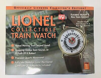 Lionel Collectible Train Watch TeleBrands Collectors Edition New IN BOX Licensed