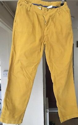 Miller Girls  Velour Mustard Color Trousers Age 12