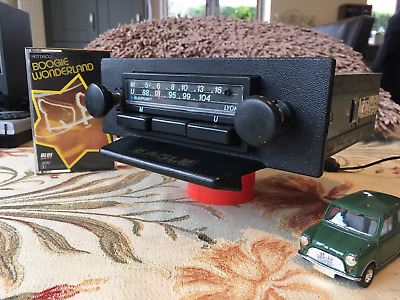 1970,s Blaupunkt lyon vintage car radio with mp3 ipod input