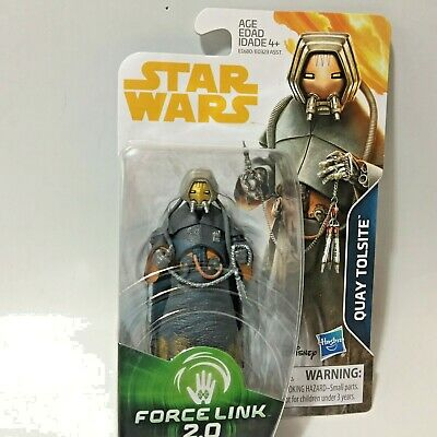 Star Wars Solo Movie QUAY TOLSITE Force Link 2.0 3.75in Action Figure In Stock