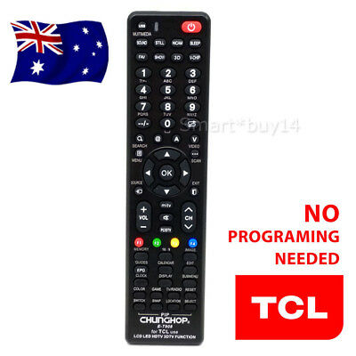 Universal TCL Smart TV NO PROGRAMMING 3D HDTV LED LCD Remote Control Controllers
