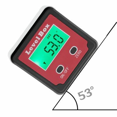 Digital Inclinometer Level Boxl Measuring Tool Electronic Angle Meter Finder