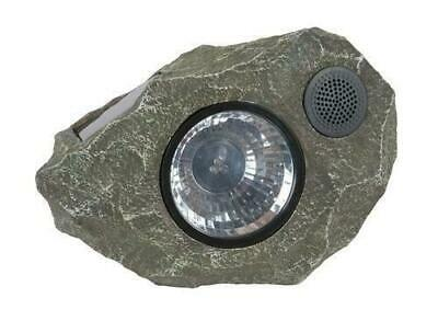Boston Harbor Solar Rock Light With Wireless Speaker Bluetooth 9-Lumens