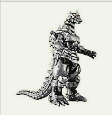 Bandai Movie Monster Series Godzilla Mechagodzilla 2004 Vinyl Figure (US Seller)
