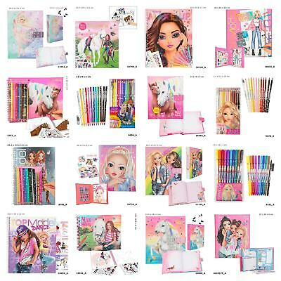 Top Model Stationery, Design Books, Colouring Book, Pens & More! - FREE P&P!